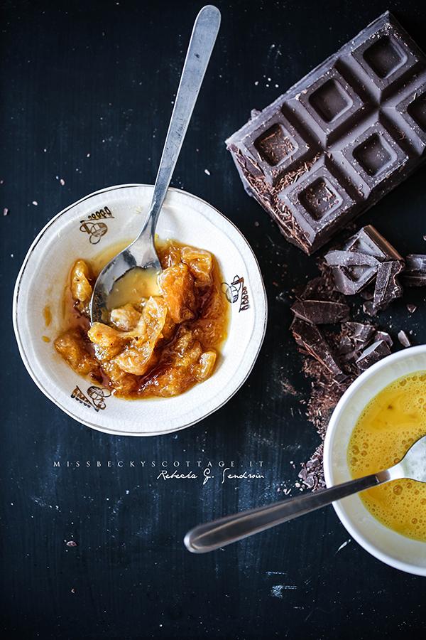 chocolate mandarine cointreau turnover