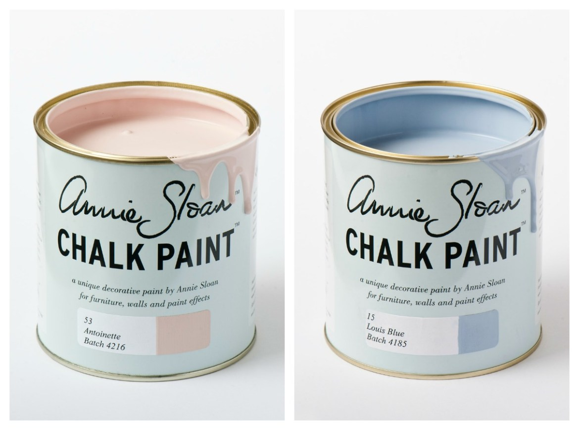 annie sloan paint chalk Collage