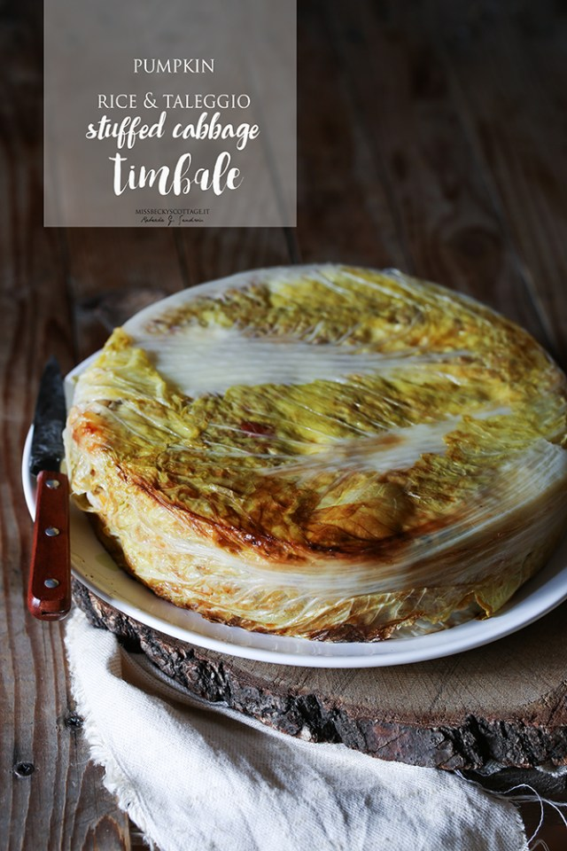 stuffed cabbage timbale