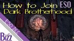 How to Join the Dark Brotherhood Guild in ESO