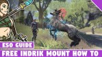 How to Get the Free Indrik Mount in ESO