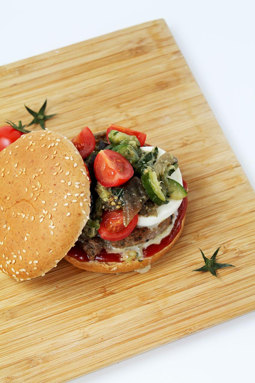 Burger à l'italienne 3