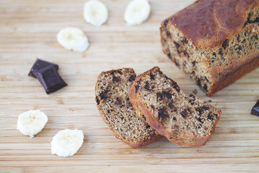 cake banane et p pites de chocolat sans gluten et lactose free miss blemish blog lifestyle. Black Bedroom Furniture Sets. Home Design Ideas