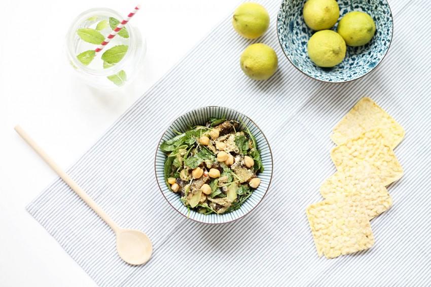 Pique-nique | La très chouette salade d'aubergines grillées - Slow lifestyle - Miss Blemish