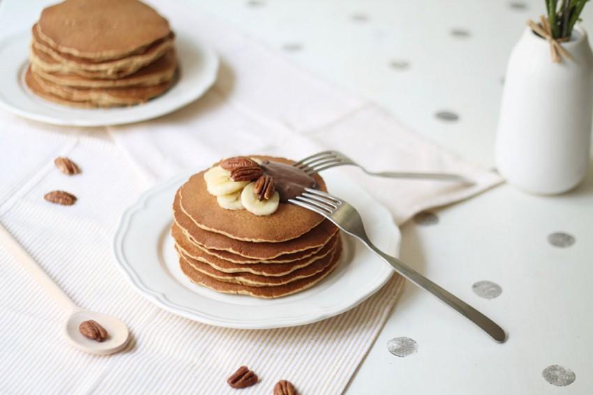 Les pancakes banane-cannelle sans gluten | Recettes d'automne - Miss Blemish