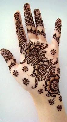 arabic mehndi design easy and beautiful half hand