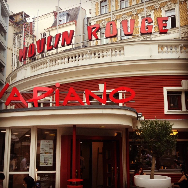 Wien Kurztrip 25hours Hotel Museumsquartier Prater Kurztrip Vapiano Moulin Rouge