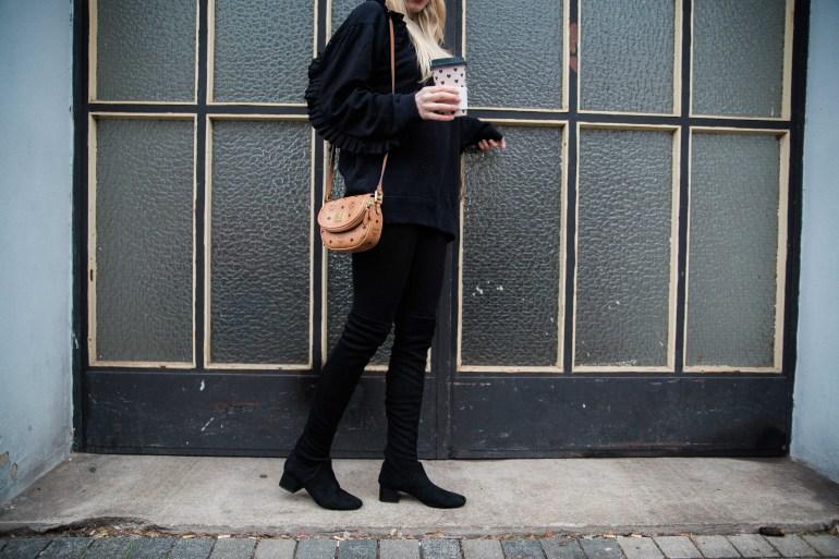 Missbonnebonne Fashionblog Köln Bonn Sweater Overknees MCM Shooting Outfitpost Modeblog (5)