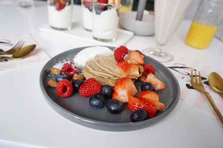California Breakfast Frühstück Buchweizen Pancakes