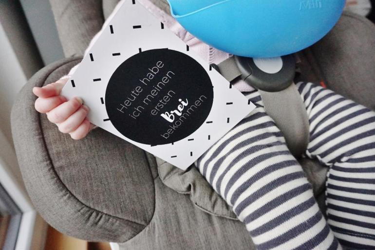 Beikoststart 6 Monate Baby