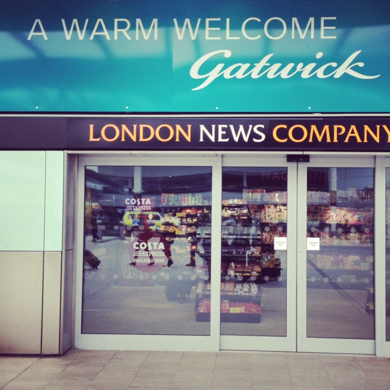 London Trip Gatwick Flughafen