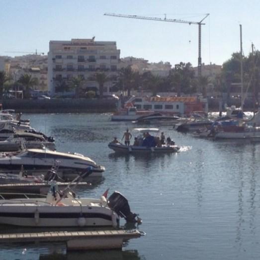 Lagos Algarve Portugal Hafen