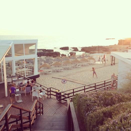 Portugal Algarve Albufeira Strandrestaurant Emfpfehlung Urlaub