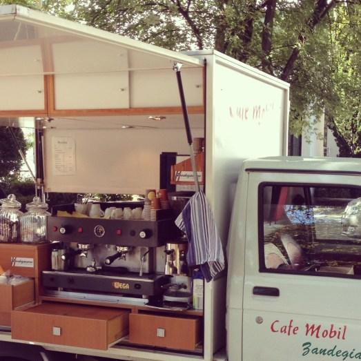 Kaffee Mobil Heussstraße Bonn Kaffee to Go Schokolade