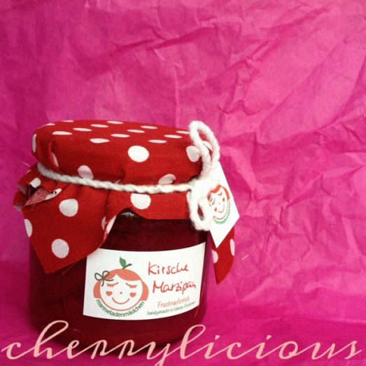 Marmeladenmädchen Test Marmelade Kirsche Marzipan