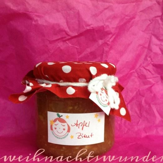 Marmeladenmädchen Test Marmelade Apfel Zimt