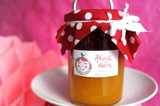 Marmeladenmädchen Test Marmelade hausgemacht selbstgemacht Versand Online Shop Pfirisch Melba