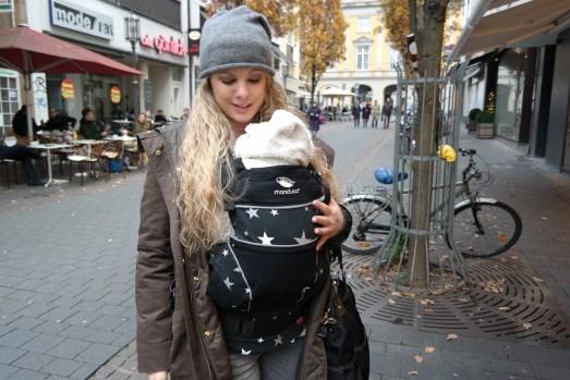 Manduca Baby Tragling Tragehilfe Neugeborenes Säugling  limited Edition