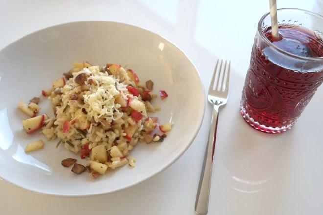 cook it bonn marktplatz risotto apfel maronen kochen