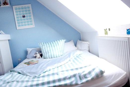 Babyzimmer Elternbett Gästebett Bettwäsche Estella Kinderzimmer Mamablog
