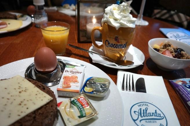 Hotel Atlanta nijmegen im Zentrum das andere Holland Wochenendtrip Frühstücken Hoteltipp reisen mit baby kind