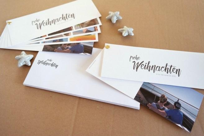 Weihnachtskarten schreiben kreativ selbst schreiben von Hand schreiben send moments