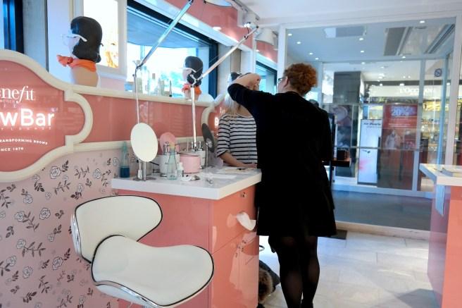 benefit brow bar bonn kaufhof counter augenbrauen waxen färben oberlippe erfahrung behandlung