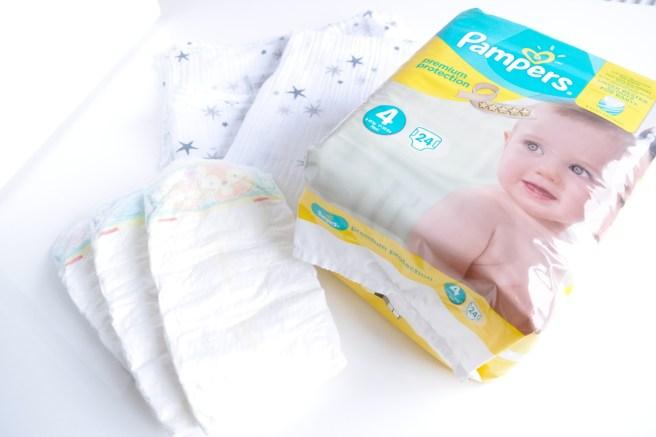 Pampers Premium Protection Mamablog Test welche Windel Junge Trocken