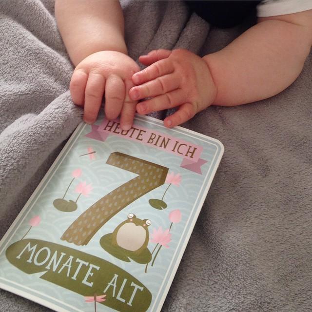 Mamablogger Deutschland 7 Monate Baby