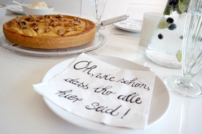 Orangina Auszeit Gewinnspiel Kuchen besondere Momente genießen entspannen elternzeit Dekoration Kaffeetisch Kaffeetrinken gönnen Gäste empfangen