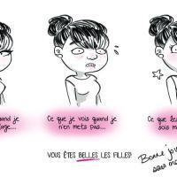 La Journée sans maquillage et l'estime de soi