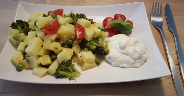 Vegan für Mama&Baby: Grüne Gemüsepfanne