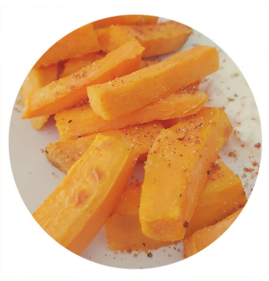 Süsskartoffel Pommes Frites / Sweet Potato Fries
