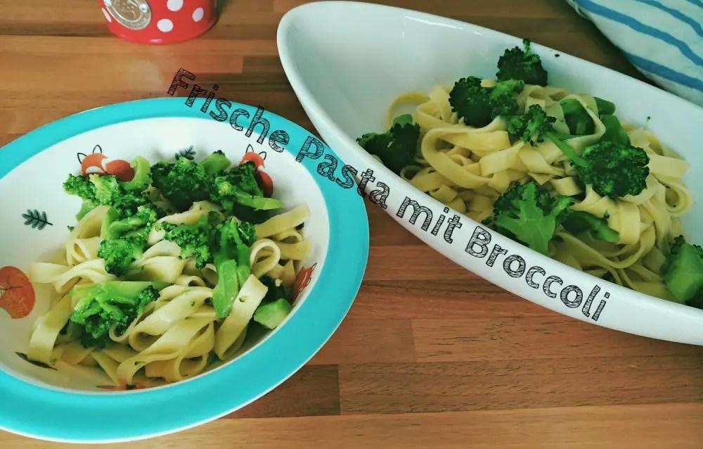 Frische Pasta mit Broccoli