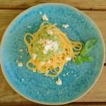 Broccoli-Pesto mit Linguine rezept pasta broccolipesto brokkoli