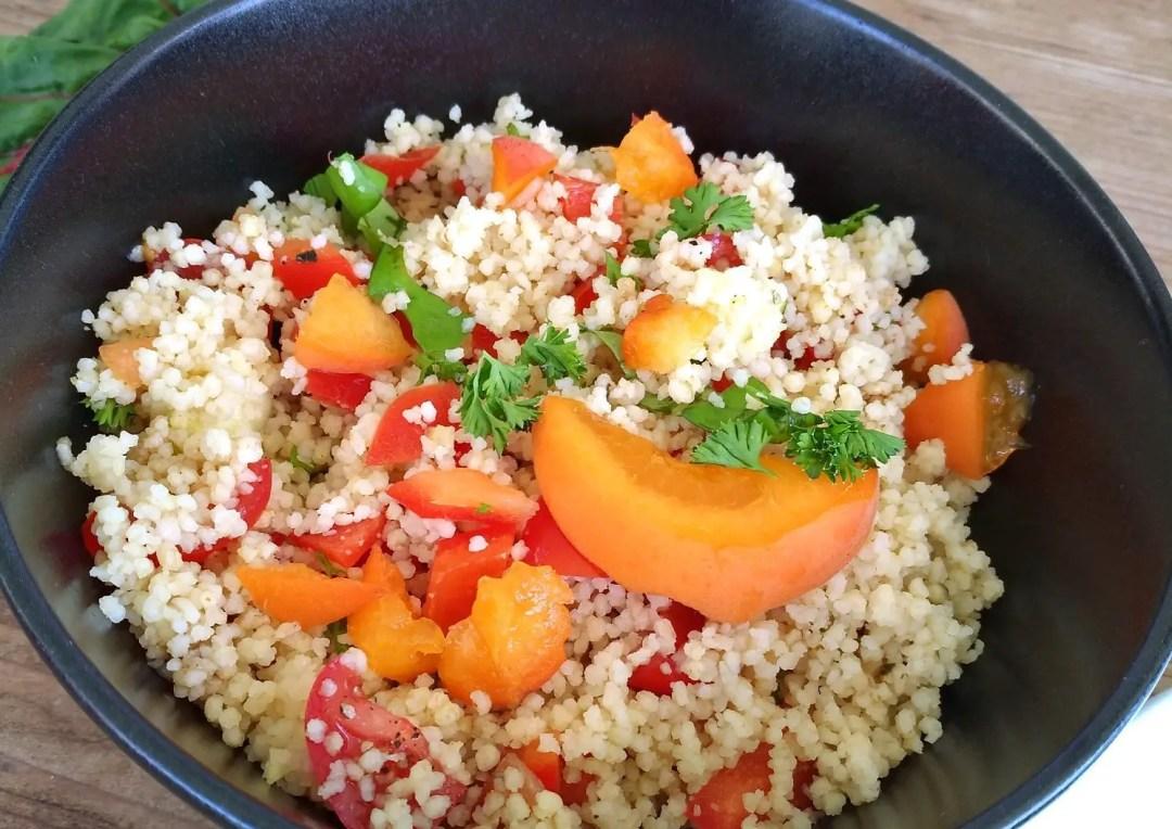 Couscous mit Aprikose Rezept vegan