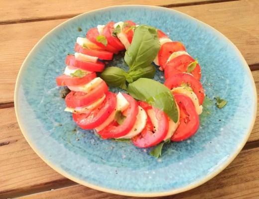 Insalata Caprese rezept familie vegetarisch sommer