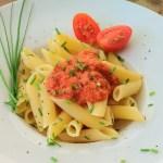 Gazpacho mit Pasta