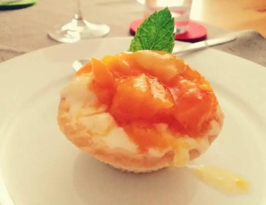 Nektarinentörtchen nektarinen quark törtchen dessert nachtisch rezept