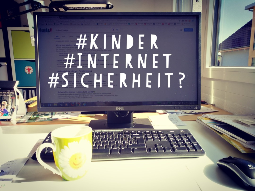 Computer mit Tastatur, Text Internetsicherheit