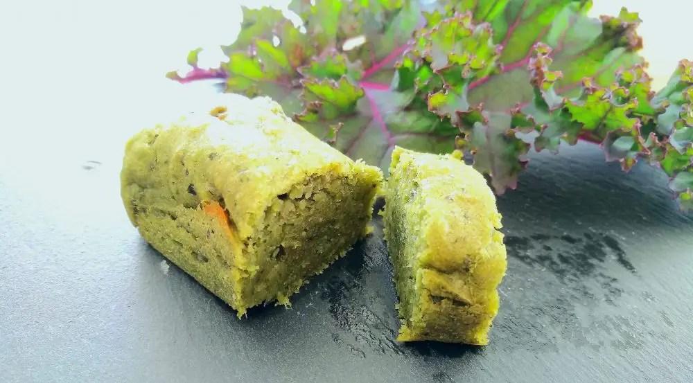 grüner Federkohl Muffin Kale
