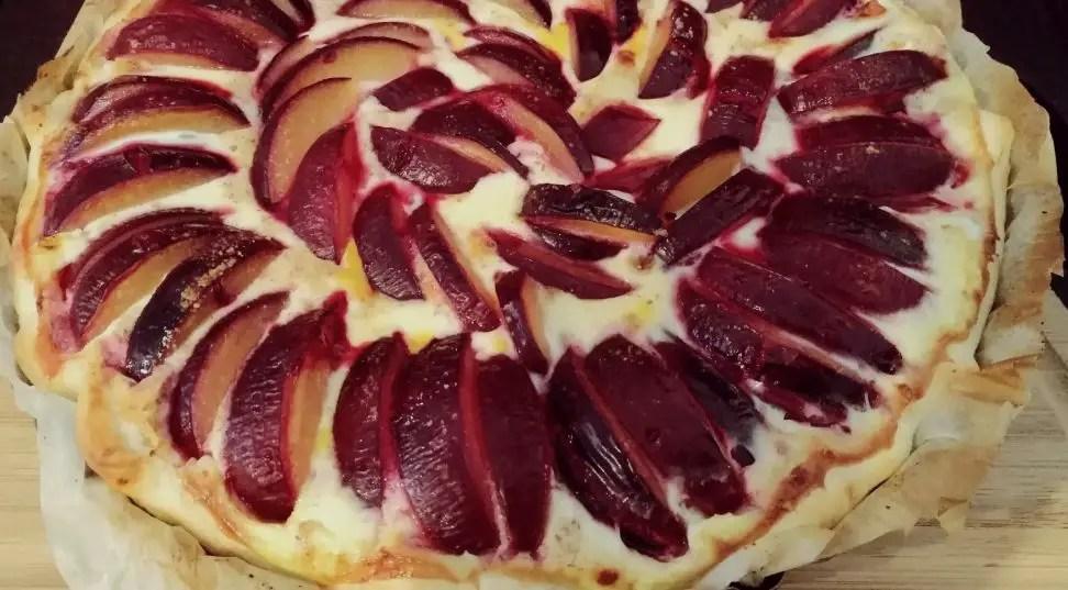 Pflaumenwähe aus dem Ofen rezept familienrezept kinderrezept