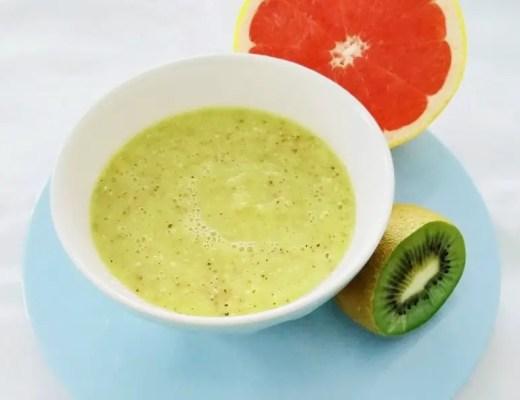 Kiwi-Grapefruit-Chia-Smoothie Bowl
