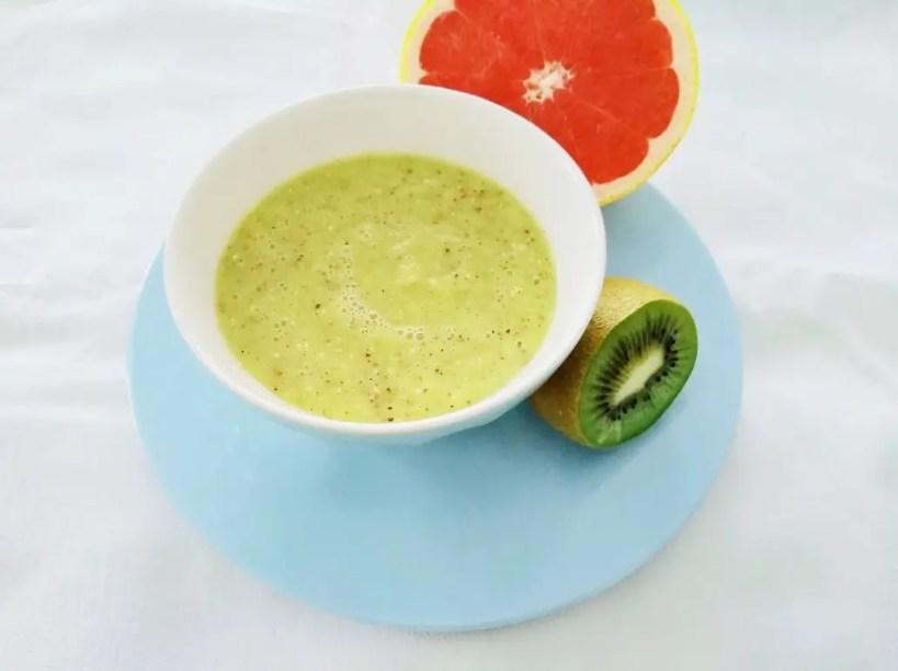Kiwi-Grapefruit-Chia-Smoothie Bowl rezept