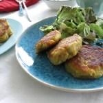 Kartoffel-Quinoa-Bratlinge Titel