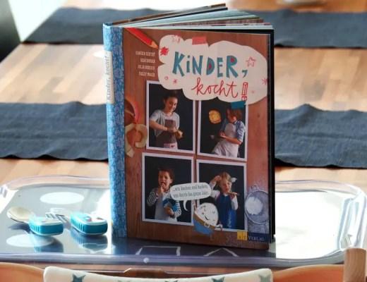Kochbuch Kinder, kocht!