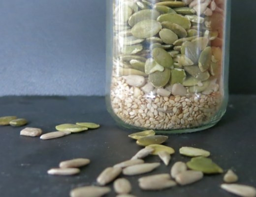 salat kernenmix, selber machen, rezept, foodblog