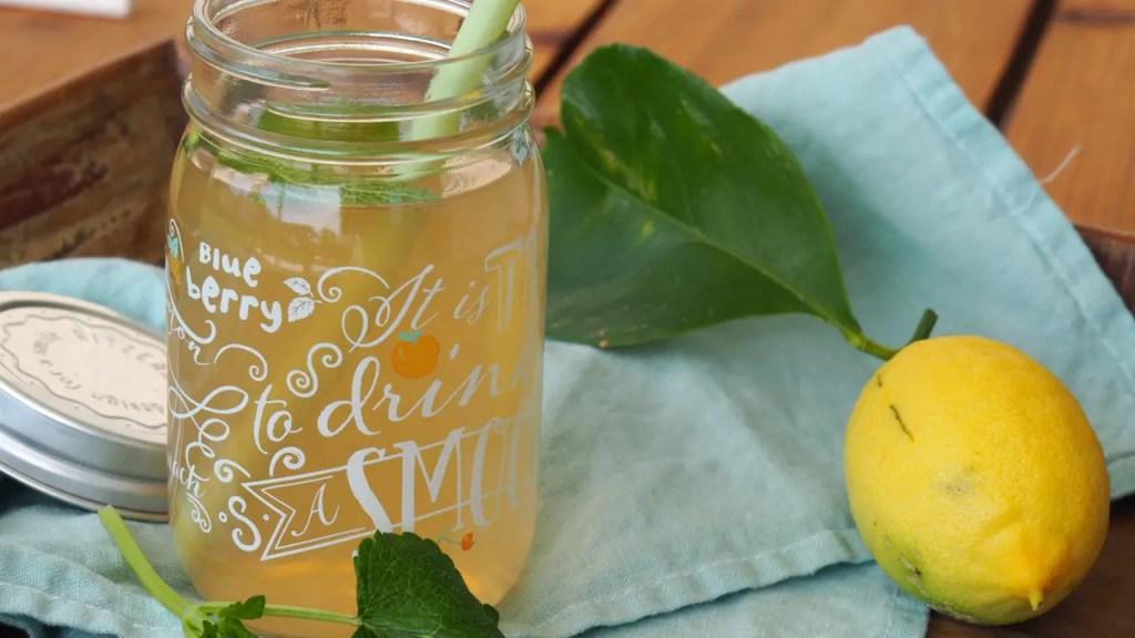 Zitronen Eistee hausgemacht rezept, selbstgemacht, kräutertee, kalt, sommer, getränk, familie, kinder