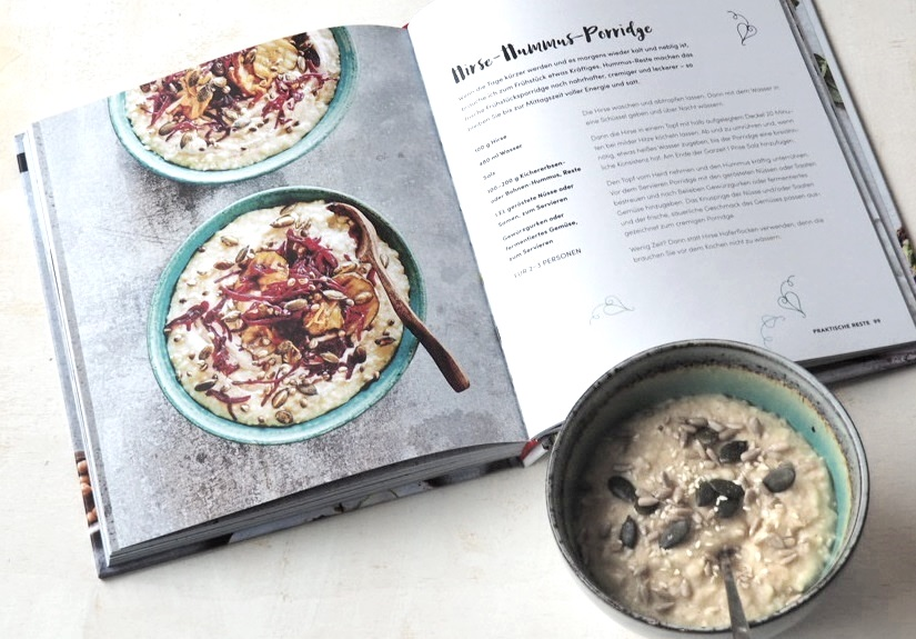 hummus kichererbse kochbuch rezension vegan, rezepte süss salzig, mezze orientalisch vegetarisch vorspeise dip kichererbsen gemüse porridge