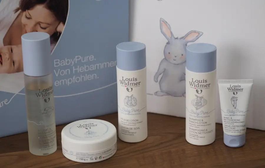 Louis Widmer BabyPure pflegelinie baby neu ohne silikone paraffin ohne duftststoffe peg frei von neutral testbericht test